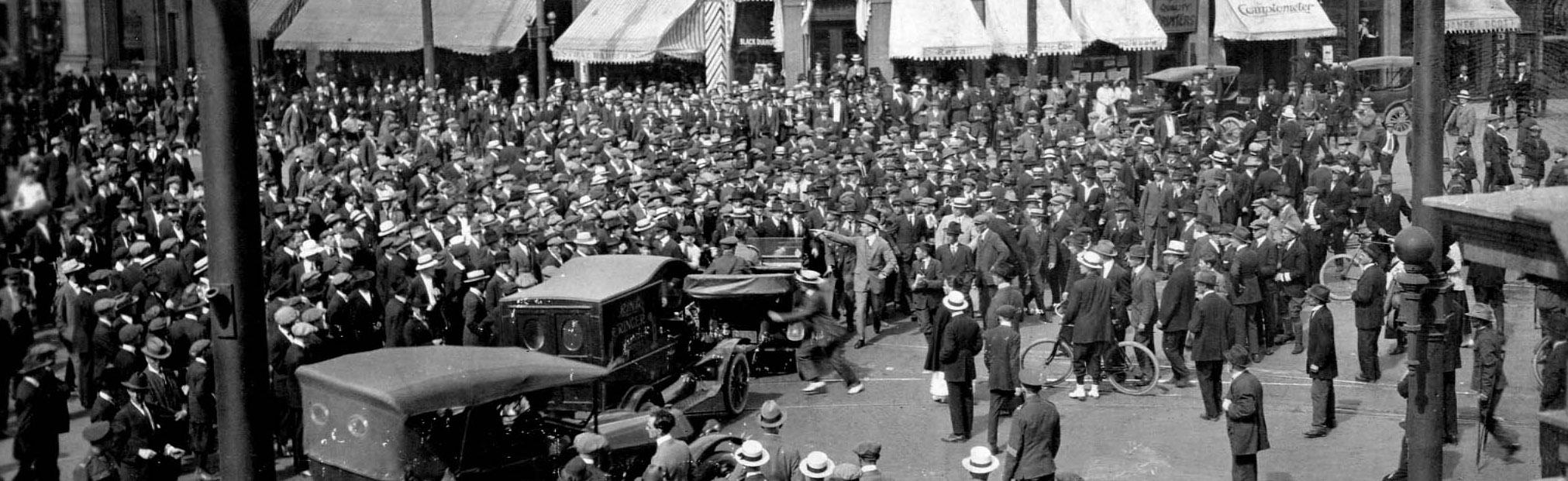 Winnipeg Riot, June 10, 1919. Click to go to description