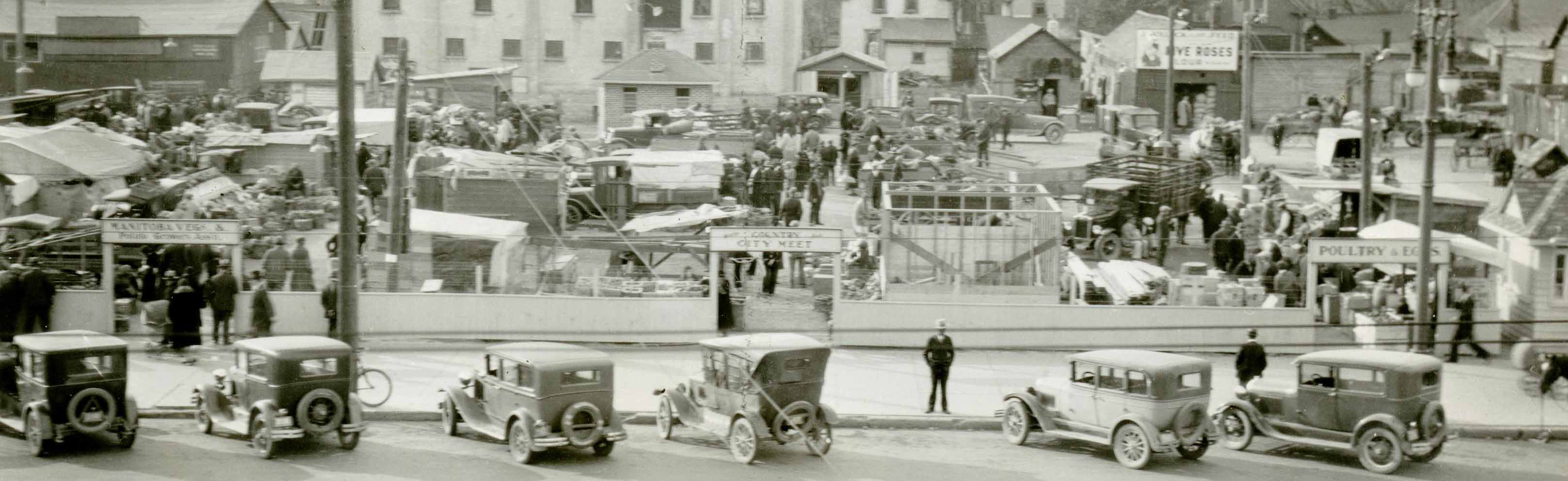 North End Farmers' Market, 1930