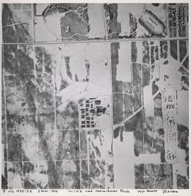 No. 3 W.S. and Assiniboine Park [Aerial view]