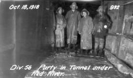 Party in Tunnel under Red River