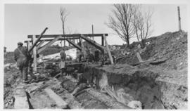 Outfall sewer, Armco iron pipe, 1936