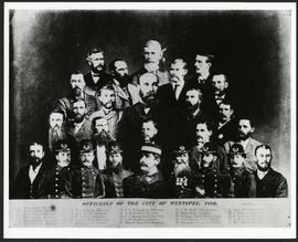 1880 Winnipeg Officials collage