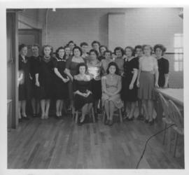 Group of female workers at Dominion Bridge Company