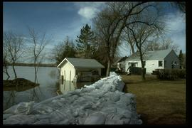 1997 flood - Scotia Street - dike