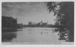 Junction of Red and Assiniboine Rivers, Winnipeg, Manitoba