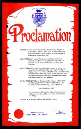 Proclamation - Crookston Day