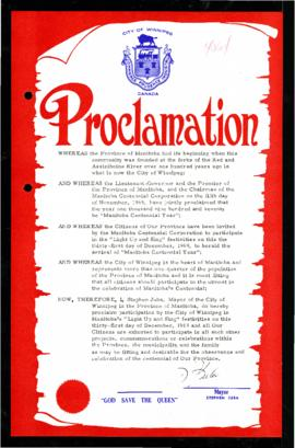 Proclamation - Light up and Sing