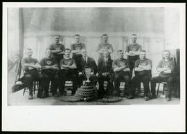 Winnipeg Police sports team with trophy