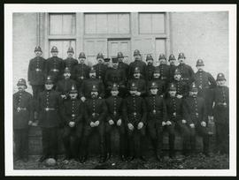 Group photo of Winnipeg Police