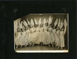 Dancers in winged costumes