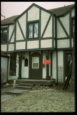 1997 flood - Kingston Row - house