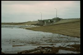 1997 flood - Floodway gates on Red River
