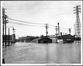 Water Street from Provencher Bridge before causeway was built