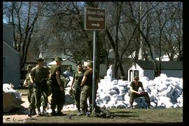 Scotia Street - sandbagging