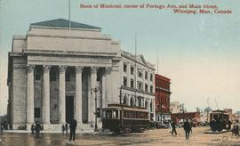 Bank of Montreal, corner of Portage Avenue and Main Street