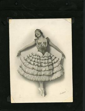 Dancer in costume