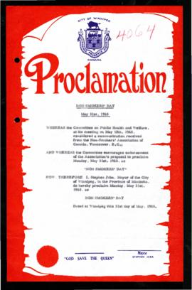 Proclamation - Non-Smokers' Day