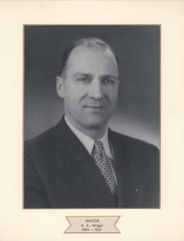 Mayor A. E. Wright, City of West Kildonan