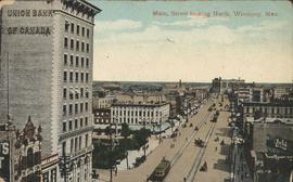 View of Main Street looking North from the bend in street at William Avenue to Higgins Avenue, ca. 1906