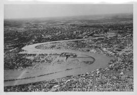 No. 3 Aerial view of Riverview District with Norwood across the river protected by Lyndale Dike