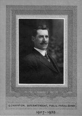 G. Champion, Superintendent of Public Parks Board