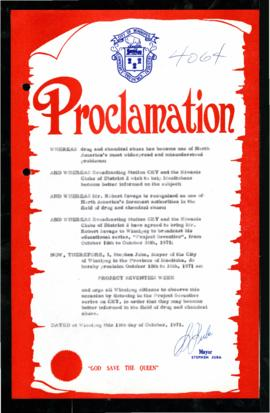 Proclamation - Project Seventies Week