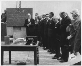 No. 1 - Laying of the cornerstone at new City Hall, May 15, 1964