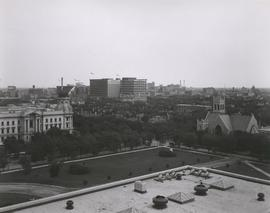 View looking northeast from the Legislative Building - summer 1932