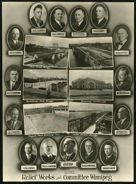 1932 Relief Works and Committee Winnipeg