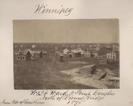 Winnipeg, West Ward, Point Douglas north of Browns Bridge, 1875