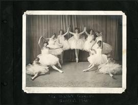 "Dancers in costume performing ""Le Ballet Francais"""