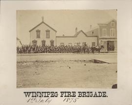 Winnipeg Fire Brigade, July 1, 1875