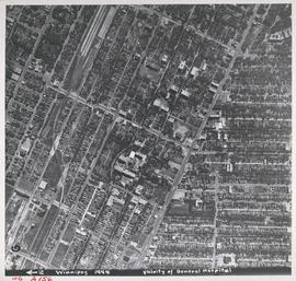 Aerial view of Vicinity of General Hospital, 1944