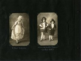 Dancers in costume, including Ethel, Eileen, and Leslie Brown