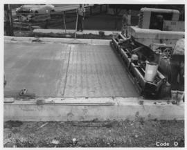 Pavement construction Project O, Keewatin Street (between Logan Avenue and Magnus Avenue), September 20, 1963