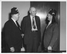 Mayor Garnet Coulter and Shriners