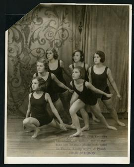 Dancers in costume, Last Recital