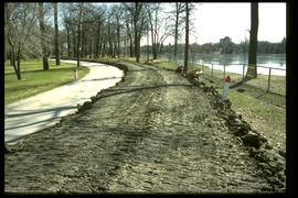 1997 flood - Kildonan Park - earthen dike