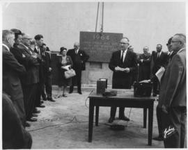 No. 2 - Laying of the cornerstone at new City Hall, May 15, 1964 (shows Mayor Stephen Juba speaking)
