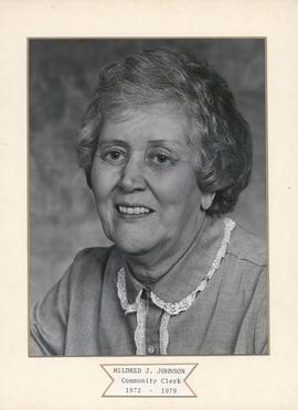 Mildred J. Johnson, Community Clerk