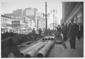 No. 3 Renewal of 8 inch cast iron water pipe in Portage Avenue from Kennedy Street to Main Street...