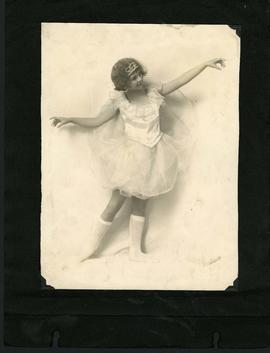 Young dancer in costume