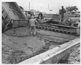 Pavement construction Project N, Keewatin Avenue (between Logan Street and Magnus Street), September 15, 1963