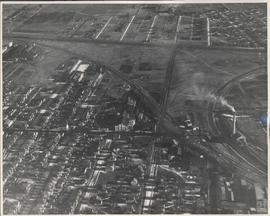 Aerial view of Northeast Winnipeg (Elmwood area)