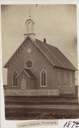Grace Church, Winnipeg, 1872