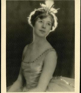 "Alice Weir as ""Spirit of the North Pole"""