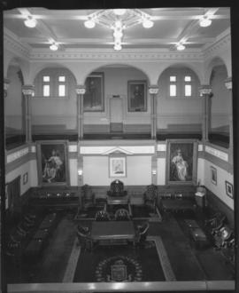 Interior of the Council Chamber at City Hall