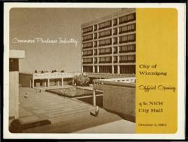 Program to official opening of the 1964 City Hall