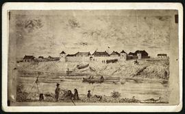 Sketch of Upper Fort Garry