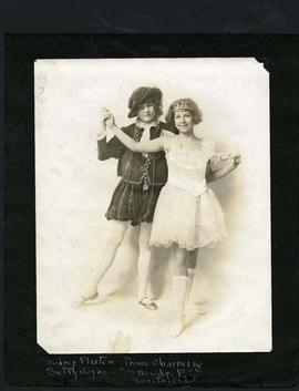 "Audrey Plaxton and Betty Joyce performing ""Snow Drop"""